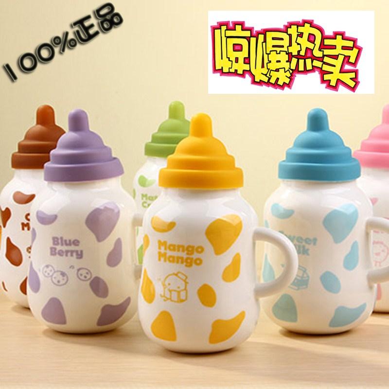 Cartoon Milk Bottle Cartoon Nipple Milk Bottle
