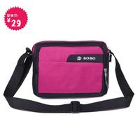 2014 Real Time-limited Freeshipping Women Zipper Solid Velour Women's Cross-body Handbag Messenger Bag Fashionable Casual