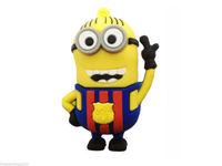 Details about Cartoon Blue Minions toy model USB 2.0 Memory Stick Flash pen Drive 8GB P233