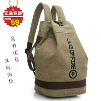 2014 Time-limited Seconds Kill Freeshipping Floral Men No Softback 20-35 Litre Canvas Casual Backpack School Bag Drum Travel