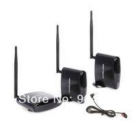 2.4Ghz Wireless AV Sender Transmitter 2 Receiver IR Extender For 2 Floor PAT260+free shipping