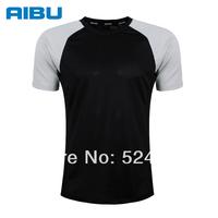Aoque New Men's sports T-shirt Absorbent Quick-drying Jogging t-shirt Short sleeve Skating t-shirts Breathable Running t-shirts
