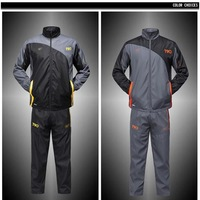 2014 Spring and Autumn New Men's Clothing Personality Hooded Casual Sports Long-Sleeved Sweatshirts Set  (jacket + pants)