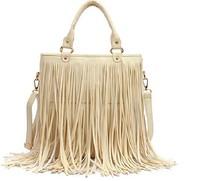 Bags Women Leather Handbags Punk Tassel Shoulder Bags Fahion Women Big Handbag Messenger Bag Totes Bolsa Franja