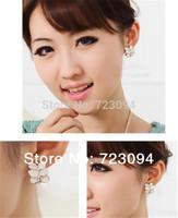Min.order is $10 (mix order) 2013 New Fashion Hot Cute Sweet Lovely Woman's Earrings Ear Studs Stud ZYJ35