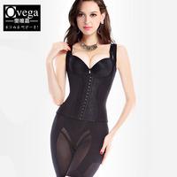 Women's underwear spring breathable abdomen drawing butt-lifting beauty care split shaper set 41001
