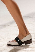 2014 spring and summer 3.1ph illip lim ruslana korshunova transparent women's genuine leather shoes single shoes