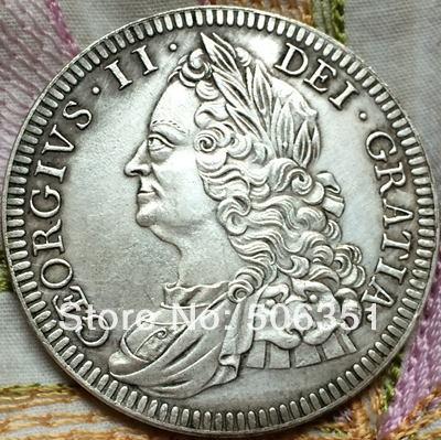 1746 United Kingdom 1 Crown coins(China (Mainland))