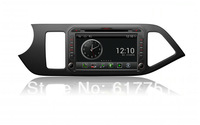 Factory Price +Free Shipping+7''HD Touchscreen Android Car DVD GPS Navigator for Kia Picanto,Radio,Bluetooth,iPod, Wifi Dongle
