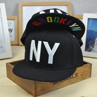 Hat flat brim cap ny flat along the cap HARAJUKU hip-hop cap boy hat hiphop cap ny baseball cap