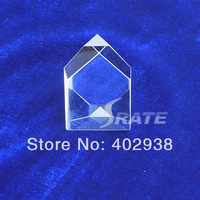 4pcs/lot  BK7 Defective Polygonal Prism for Physics School Teaching Tools free shipping