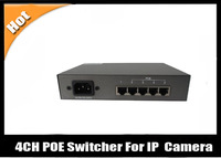 4CH POE Switcher For IP Network Camera With POE 65W BQ-POESW04A S