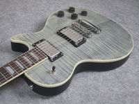 Axcess Electric Guitar, Light Grey, Satin Back, Customized Guitar