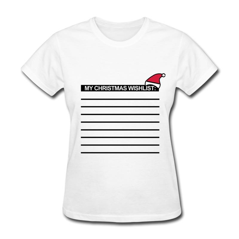 Regular T Shirt Women's Christmas gifts Giving Christ Child Santa Custom Swag Picture Tee-Shirts for Girl Free Shipping(China (Mainland))
