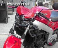 PAZOMA Motorcycle Head Light fairing motorcycle dual sport lamp street fighter Super Moto Custom