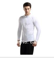 2014 Free shipping Male swimwear long-sleeve snorkeling swimwear/ mens wetsuit/ diving tops S/M/L/XL/XXL