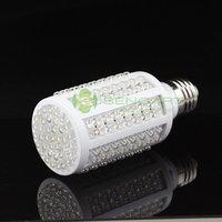 E27 166 LED 10W  6500k 1050LM  WHITE SPOTLIGHT CORN BULB LAMP AC 220V 240V