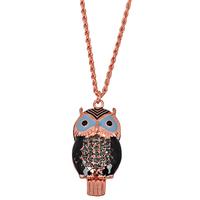 Fashion Long Design  Owl Necklace 2014