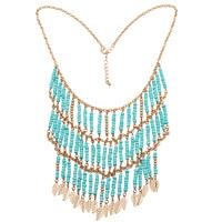 Golden Fashion Bead Necklace Wholesale