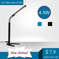HUGEWIN table lamp 4.5w bed lamp HTL045 LED desk lamp for reading 4100k