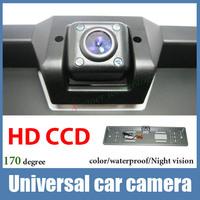 Night vision CCD HD Car front view camera Universal car rear view camera fit all model like Hyundai kia k2 focus BMW corolla