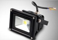 30pcs/lot 110-220v 10w led floodlight waterproof IP65 outdoor lamp wall light RGB+24key IR remove controller landscape light