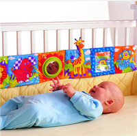 Free Shipping Lamaze baby bumper pad Baby Toys knowledge around multi-touch multifunction fun and colorful bed baby
