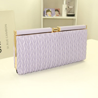 Fashion Evening Bags Women's Brand Design PU Leather Day Clutch Chain Shoulder Party Bags,Free Shipping
