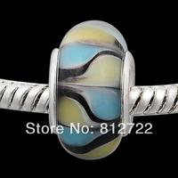 Vnistar European Glass Beads Withe Copper Core, 60pcs Wholesale PGB393