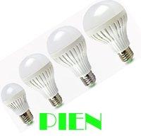 100% quality High brightness Light Bulb 5W 7W 9W 12W LED Bulb Lamp E27 220V-240V Cool/Warm White Free shipping 1pcs/lot
