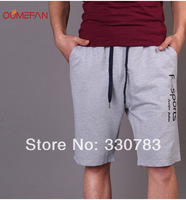 2014 summer new men's sports shorts pants loose pants casual shorts   running fashion shorts four colors