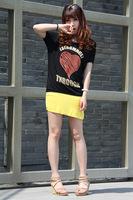 Hot sales new spring 2014 for women girl women t-shirt and t shirt women shirt women Love letters TF2