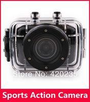 Sport camera HD 720P camera D10 Helmet Waterproof Action Camera DVR Camcorder For Bike/Diving/Surfing/Ski/Skydiving 5pcs/lot