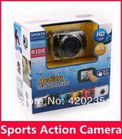 10pcs/lot Cheap Sport camera HD 720P camera Helmet Waterproof Action Camera DVR Camcorder For Bike/Diving/Surfing/Ski/Skydiving