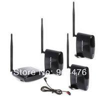 Hotsales,2.4Ghz Wireless AV Sender Transmitter 3 Receiver IR Extender For 2 Floor PAT260+free shipping