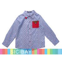New Fashion Shirt Free Shipping Boys Long Sleeved Gentleman Tees,Spring Wear  K5141