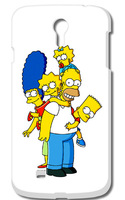 1PC Simpsons Hard Case Cover  for Galaxy S4 I9500 free shipping