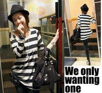 Hot sales new spring 2014 for women girl women t-shirt and t shirt women shirt women Striped TF3