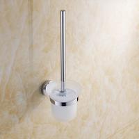 Free shipping toilet brush rack stainless steel toilet cup holder set toilet brush rack wholeshole