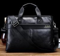 Hot Sale!! New Genuine Leather Men Bag Briefcase Handbag Men Shoulder Bag Laptop Bag Free Shipping B33