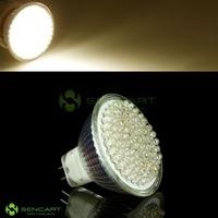 GU 5.3 4.9W 486~560LM 3000~3500K 81-LED Warm White Spot Light Bulb (12V)