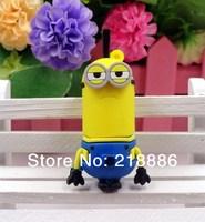 Free shipping New Pendrive Minions USB 2.0 Flash Drive32GB 16GB 8GB Despicable Me 2 Pen drive 80g Memory stick U Disk