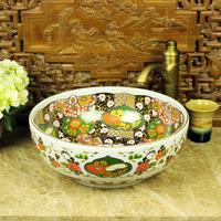 New arrival pastels, art basin counter basin wash basin rustic dancingly