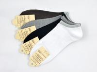 Wholesale 10 pairs men's brand Cotton Blends Men Sport Ankle Socks US size 7-11 ankle pattern socks men low cut socks