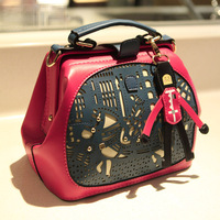 new 2014 Cutout bag women's bags 2014 women's handbag fashion shoulder bag messenger bag