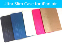Rich Boss Ultra Slim PU Leather Case For iPad air iPad 5 With Sleep Mode Protect Case Freeshhipping 10pcs/lot