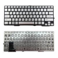 New  RU Keyboard ,Russia Version Laptop Keyboard For Sony SVE 13 Silver no frame Russian Layout Keyboard