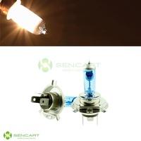 H4 100W 6000K White Light Motorcycle Headlamps / Halogen Lamp bulb
