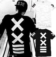 New Male t-shirt Hot selling Lovers XXlll T-shirt Hiphop Streetwear pyrex 23 HBA Short-sleeve T-shirt Men's Cotton Top 4 Colors