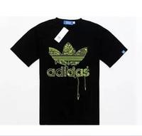 Free shipping 2014 new spring men's wear brand U cotton short sleeved T-shirt round collar men's shirt  S M L XL